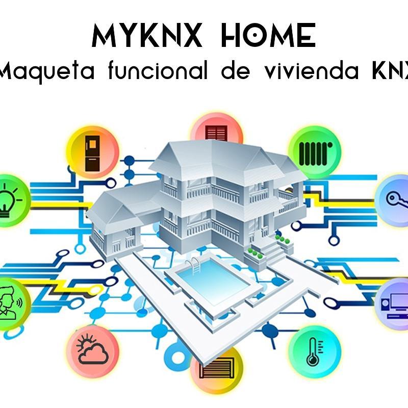 MyKnx Home - Maqueta funcional de vivienda KNX